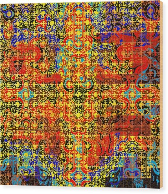 Minotaure Iv Wood Print by David Umemoto