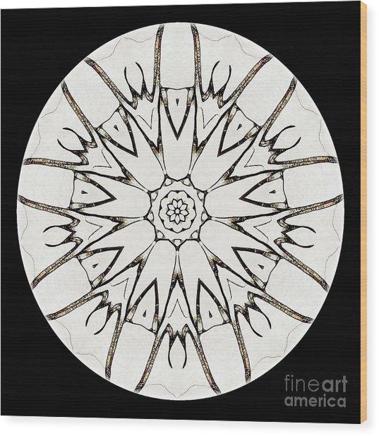 Mandala - Talisman 3779 Wood Print
