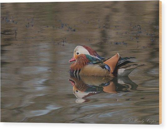 Mandarin Wood Print