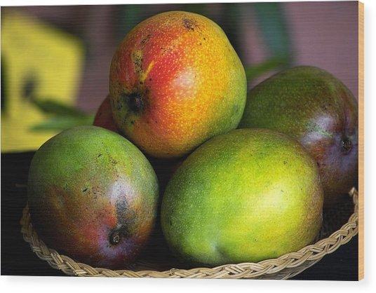 Mangos Wood Print