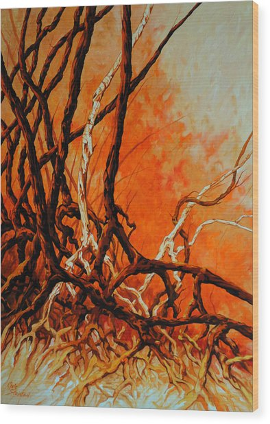 Mangroves Wood Print