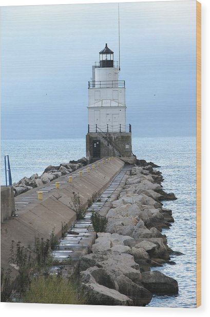 Manitowoc Breakwater Lighthouse  Wood Print