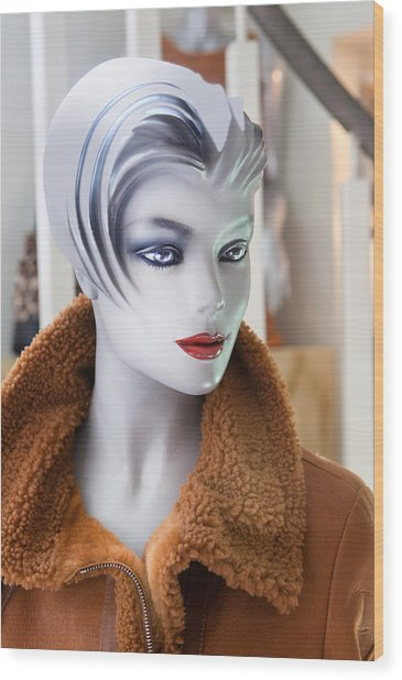 Mannequin 74a Wood Print