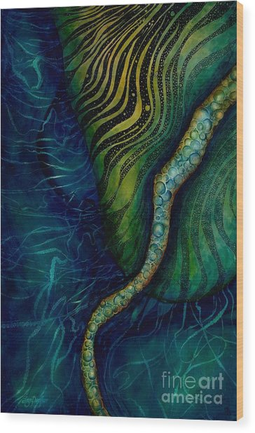 Manta Wood Print