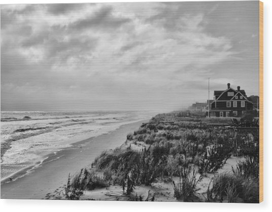 Mantoloking Beach - Jersey Shore Wood Print