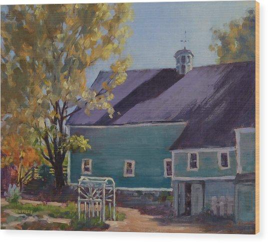 Maple Hill Farm Wood Print