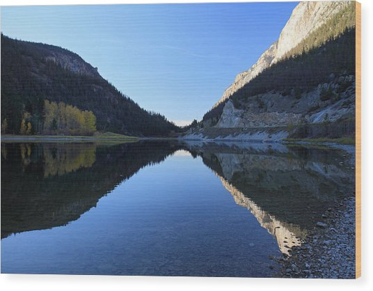 Marble Canyon British Columbia Wood Print by Pierre Leclerc Photography