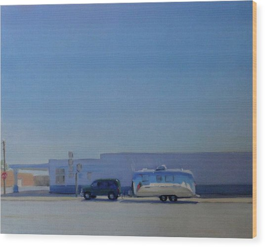 Marfa Texas Wood Print