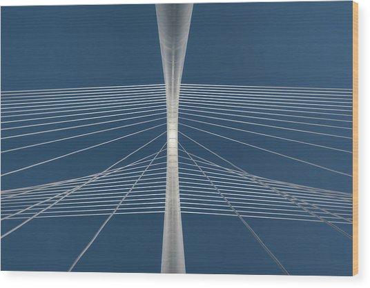 Margaret Hunt Hill Bridge Wood Print by Todd Landry Photography