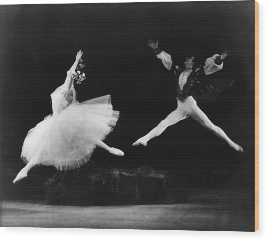 Margot Fonteyn 1919-1991, And Alexis Wood Print by Everett