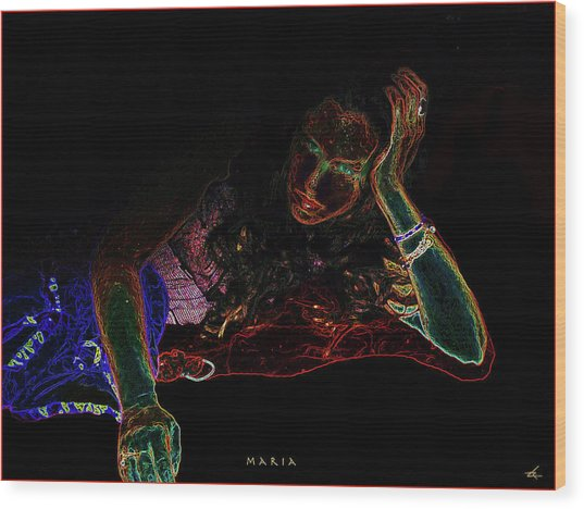 Maria Wood Print