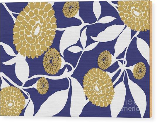 Marigolds II Wood Print