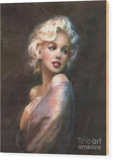 Marilyn Ww Classics Wood Print
