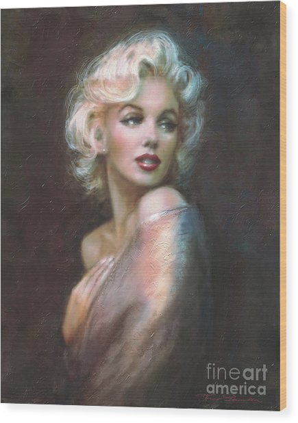 Marilyn Ww  Wood Print