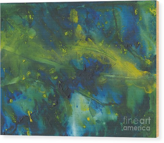 Marine Forest Wood Print