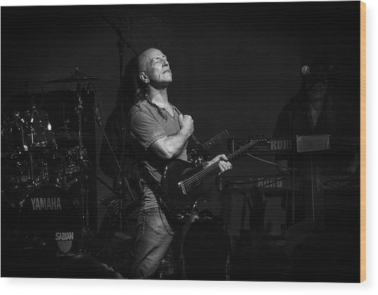 Mark Farner Gfr Wood Print