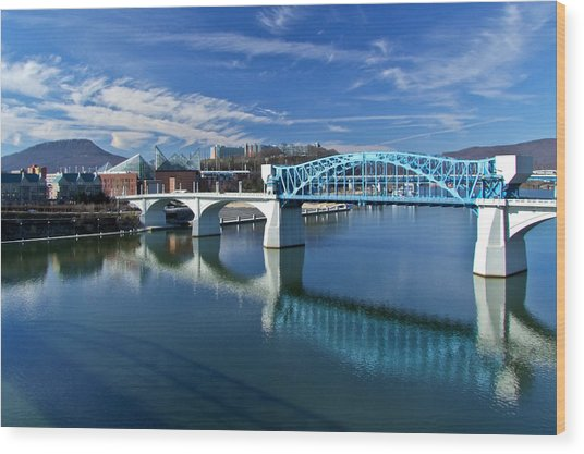 Market Street Bridge  Wood Print