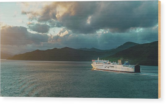 Marlborough Sounds Wood Print