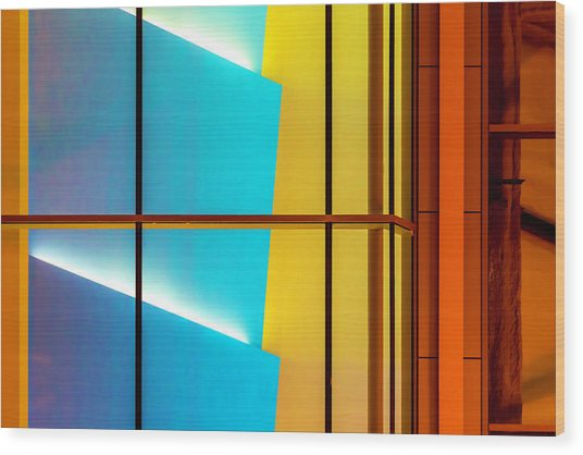 Marquee At Block 37 Dsc_2465 Wood Print