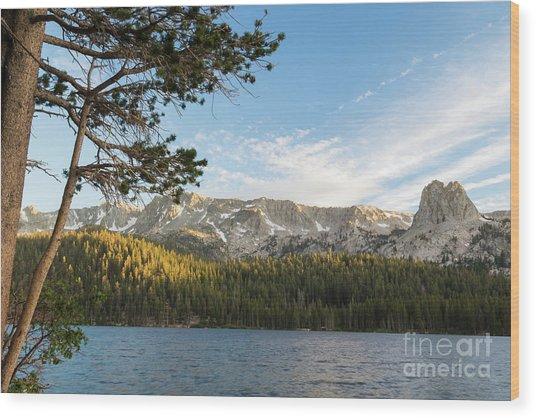 Marry Lake  Wood Print