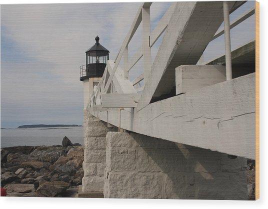 Marshall Point Wood Print