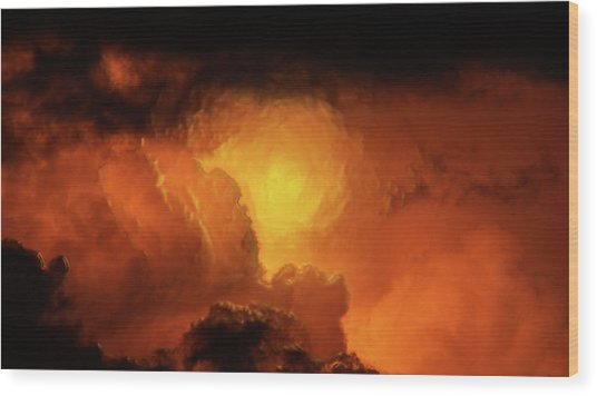 Marvelous Clouds Wood Print