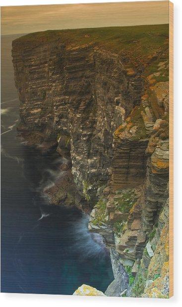 Marwick Head Orkney Scotland Wood Print