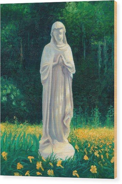 Mary Wood Print by Joe Winkler