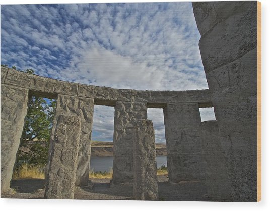 Maryhill Stonehenge 11 Wood Print