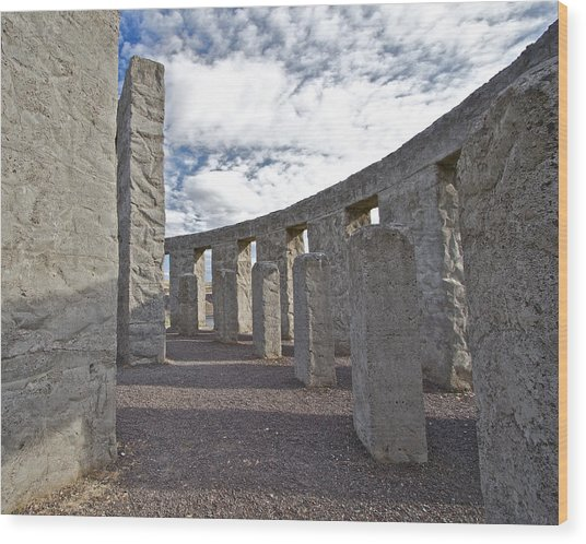 Maryhill Stonehenge 5 Wood Print