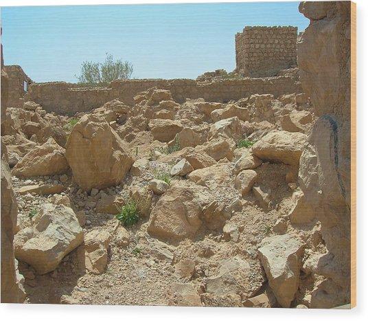 Masada I Wood Print by Susan Heller