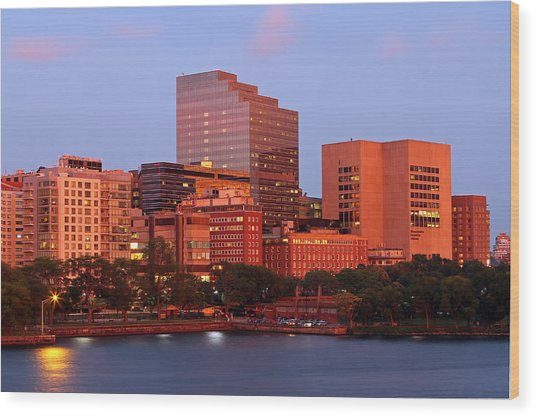 Massachusetts General Hospital Wood Print
