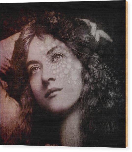 Maude Wood Print