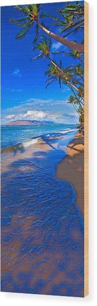 Maui Palms Wood Print