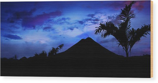 Mauii Wood Print