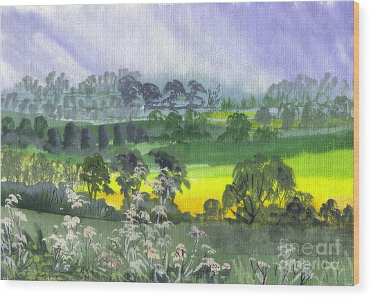 May Essex Uk Wood Print by Dianne Green