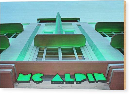 Mcalpin Hotel Wood Print