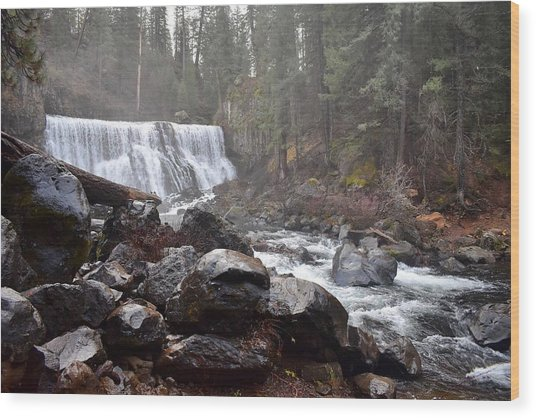 Mccloud Middle Fall Wood Print