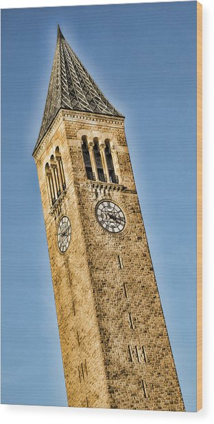 Mcgraw Tower Wood Print