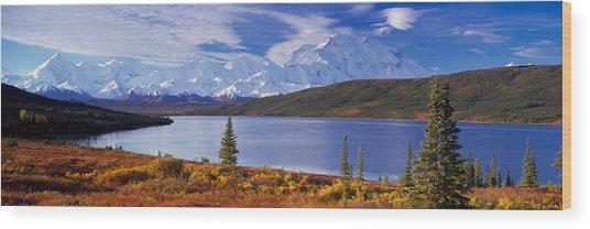 Mckinley River Denali National Park Ak Wood Print