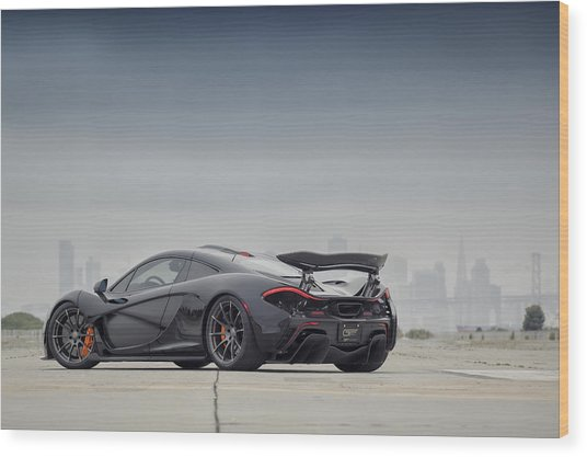 Wood Print featuring the photograph #mclaren Mso #p1 by ItzKirb Photography