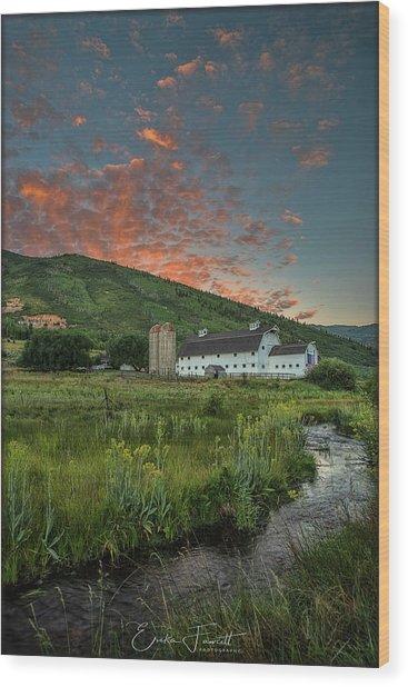 Mcpolin Sunrise Wood Print