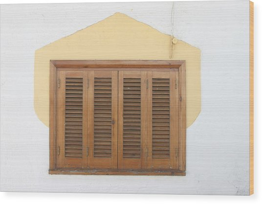 Mecina Alfahar Wood Print by Jez C Self