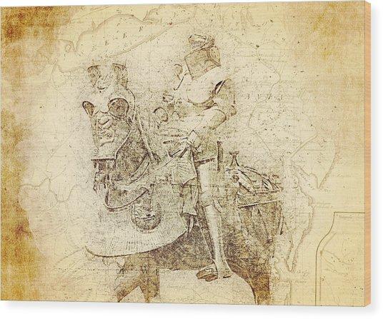 Medieval Europe Wood Print