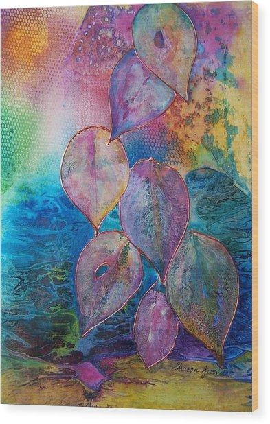 Meditative Bliss Wood Print