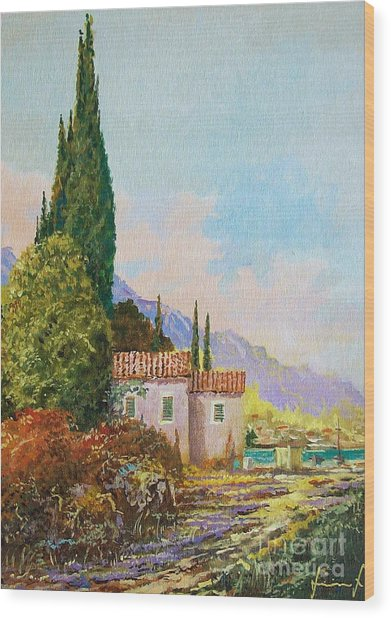 Mediterraneo 2 Wood Print