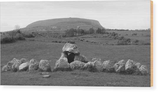 Megalithic Monuments Aligned Wood Print
