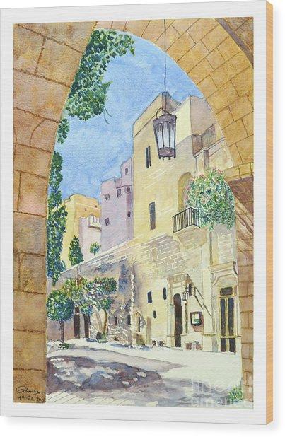 Mellieha Malta Wood Print