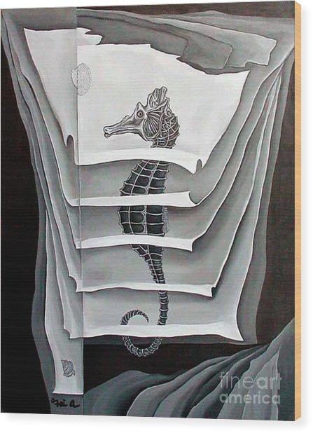 Memory Layers Wood Print