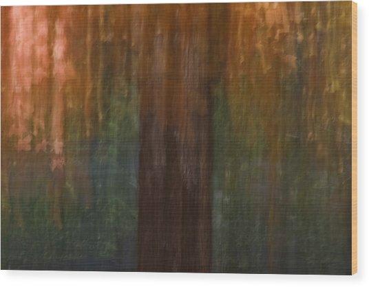 Memory Of Trinity Maple Wood Print
